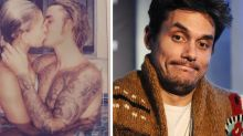 John Mayer Has a VERY Important Question About Justin Bieber & Hailey Baldwin's Hot Tub Makeout Session