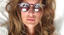 Isabel Macedo compartió una selfie son súper escote y sin una gota de maquillaje