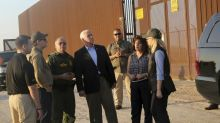 Mike Pence won't commit to wall spanning entire US-Mexico border