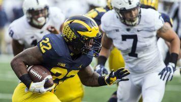Michigan's Karan Higdon guarantees win vs. OSU