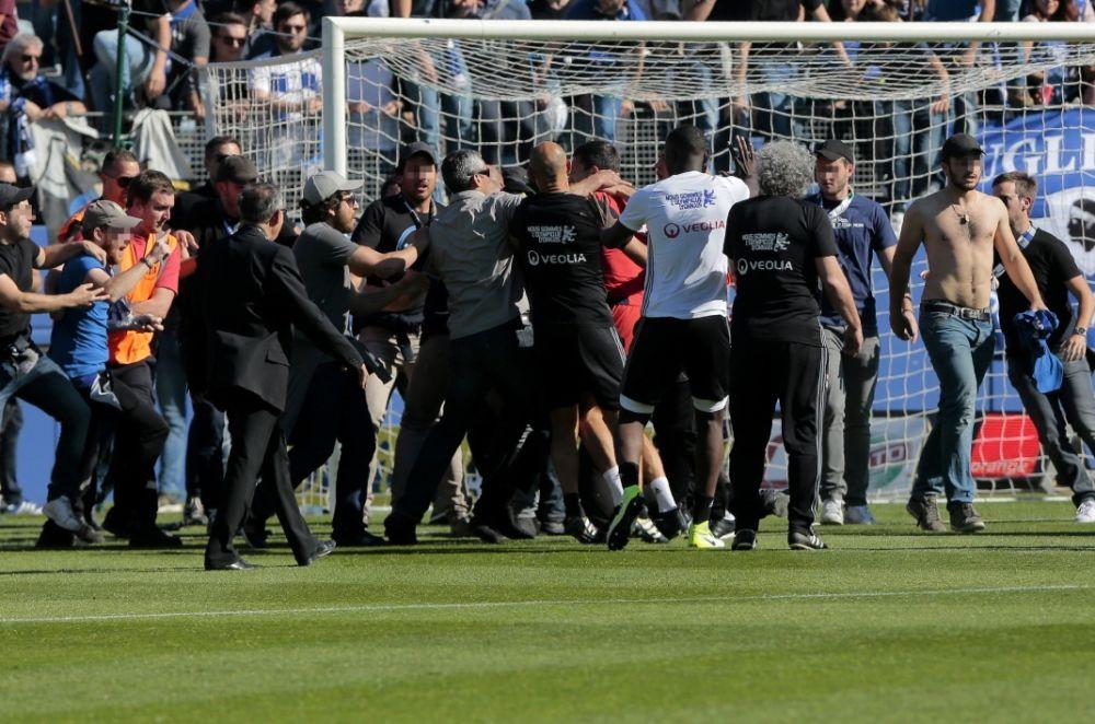 Bastia-OL: cinq hommes, dont le responsable de la sécurité, jugés en comparution immédiate
