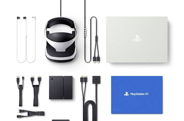 Sony shows off everything inside the PS VR core bundle box