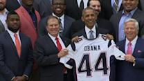 Obama Honors Super Bowl Champs at White House
