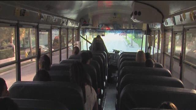 Hillsborough County students head back to school for the first day of the 2013-2014 year
