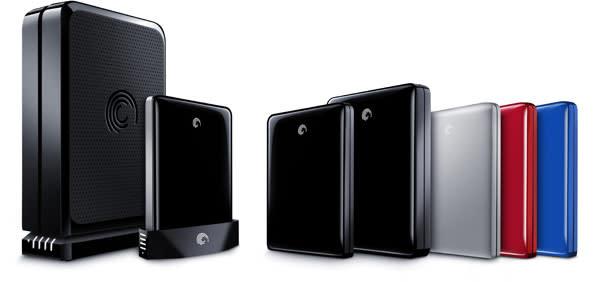 Seagate introduces new GoFlex range: multi-port HDDs, media players, etc.