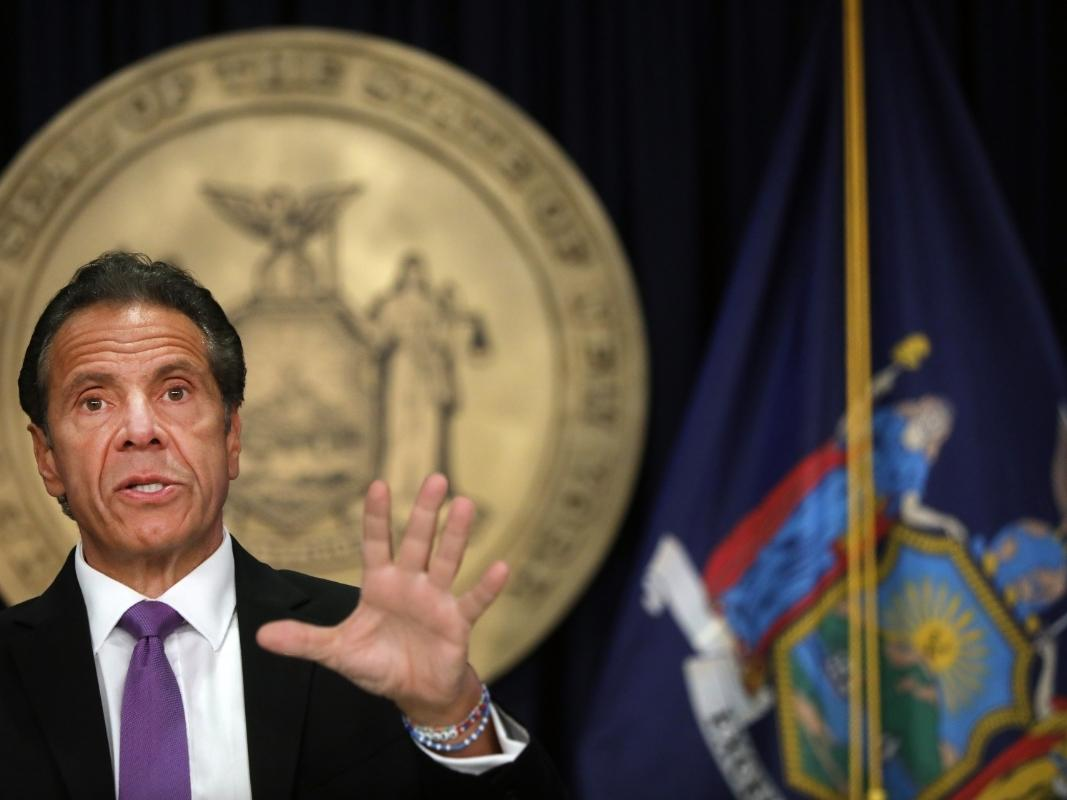 New York Governor Cuomo is the target of a gym-industry led lawsuit.