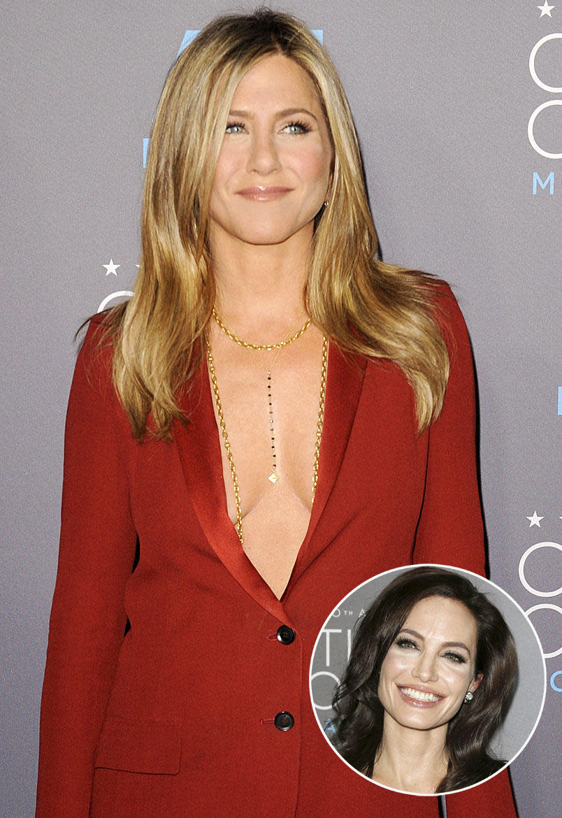 "Jennifer Aniston on Rumored Feud with Angelina Jolie: ""It ..."