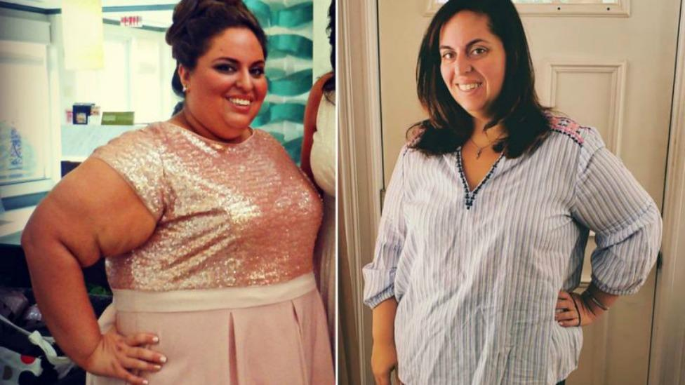 Woman reveals what she's learned after 45kg weight loss
