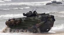 Dan por muertos a los marines tras hundimiento en California