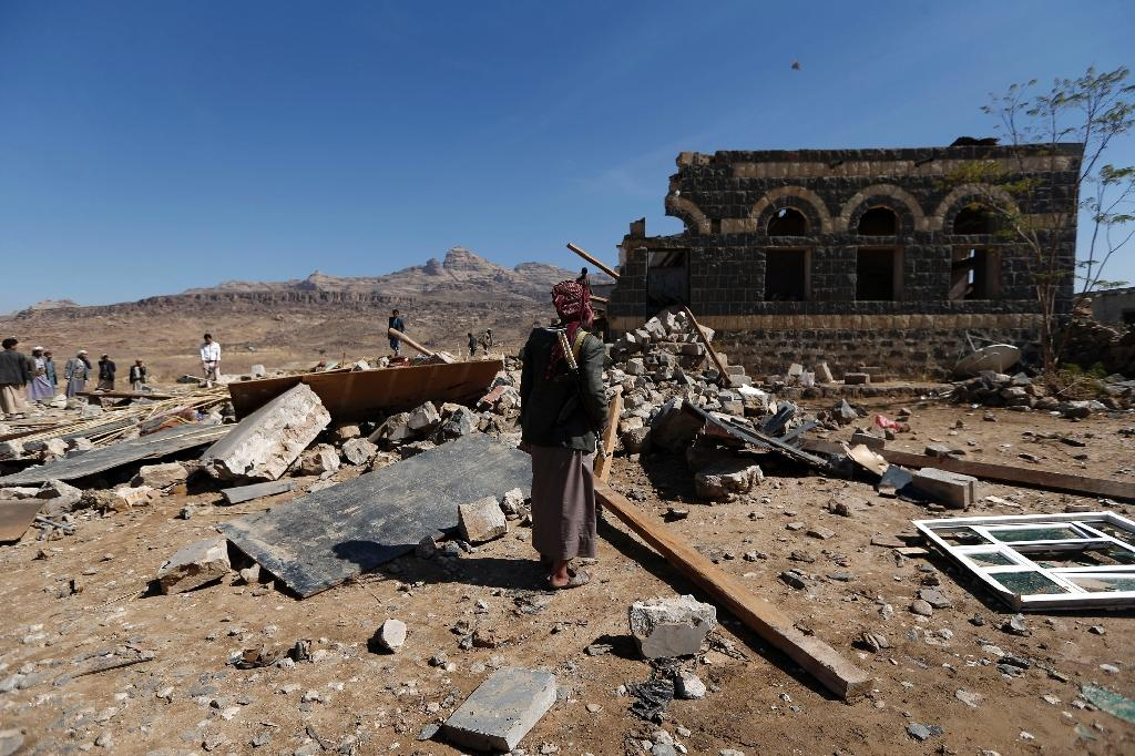 Pro-government forces backed by the Saudi-led coalition took back five southern provinces from the rebels in 2015, but Huthis still control the capital and much of northern Yemen (AFP Photo/Mohammed HUWAIS)