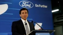 Ford names Hackett as CEO to tackle car rivals, Silicon Valley