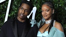 Rihanna and A$AP Rocky Spend Christmas Eve Together in Barbados