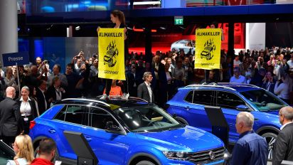 New car sales in Europe plunged in August