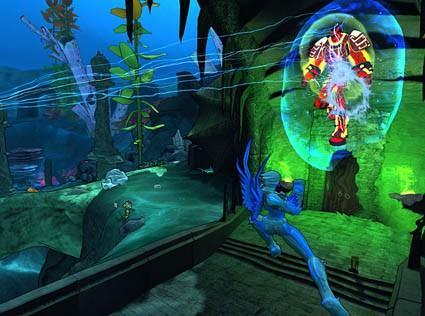 Champions Online video delves deep into the waters of Lemuria