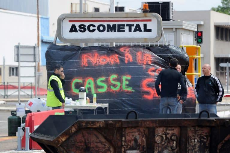 """Résultat de recherche d'images pour """"montebourg sauve Ascometal"""""""