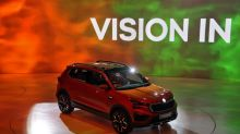 India guards against virus at car show dominated by Chinese firms