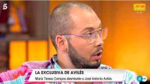 Toñi Moreno acusa a Avilés de mentiroso y él se va de plató