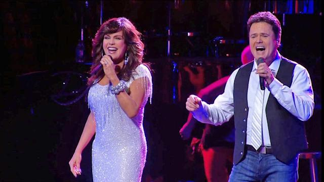Donny and Marie bring Christmas show to Los Angeles