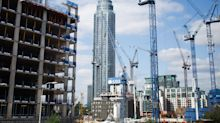 Construction of office buildings in London hits five-year low