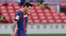 Lionel Messi is caught between overlapping crises at Barcelona, in La Liga — and of himself