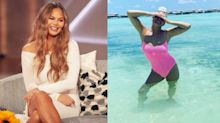 Chrissy Teigen shows off her beach body in $226 bikini from a celebrity-approved brand