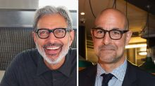 The internet wants to make a movie where Jeff Goldblum and Stanley Tucci are husbands, and we're 100% on board