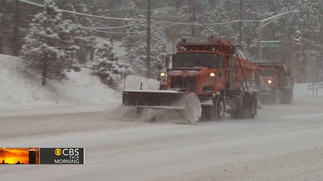 Arctic blast of cold temps set stage for ice storm