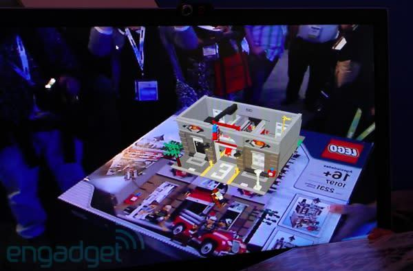 Lego's augmented reality at IDF, eyes-on (video)