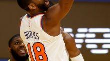 102-98. Burks lidera la remontada de los Knicks sobre los Spurs
