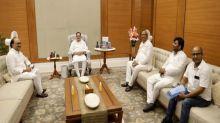 Nadda meets Nishad party chief ahead of 2022 UP polls