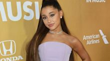 Ariana Grande posed in a $72 bralette to promote her dreamy new fragrance