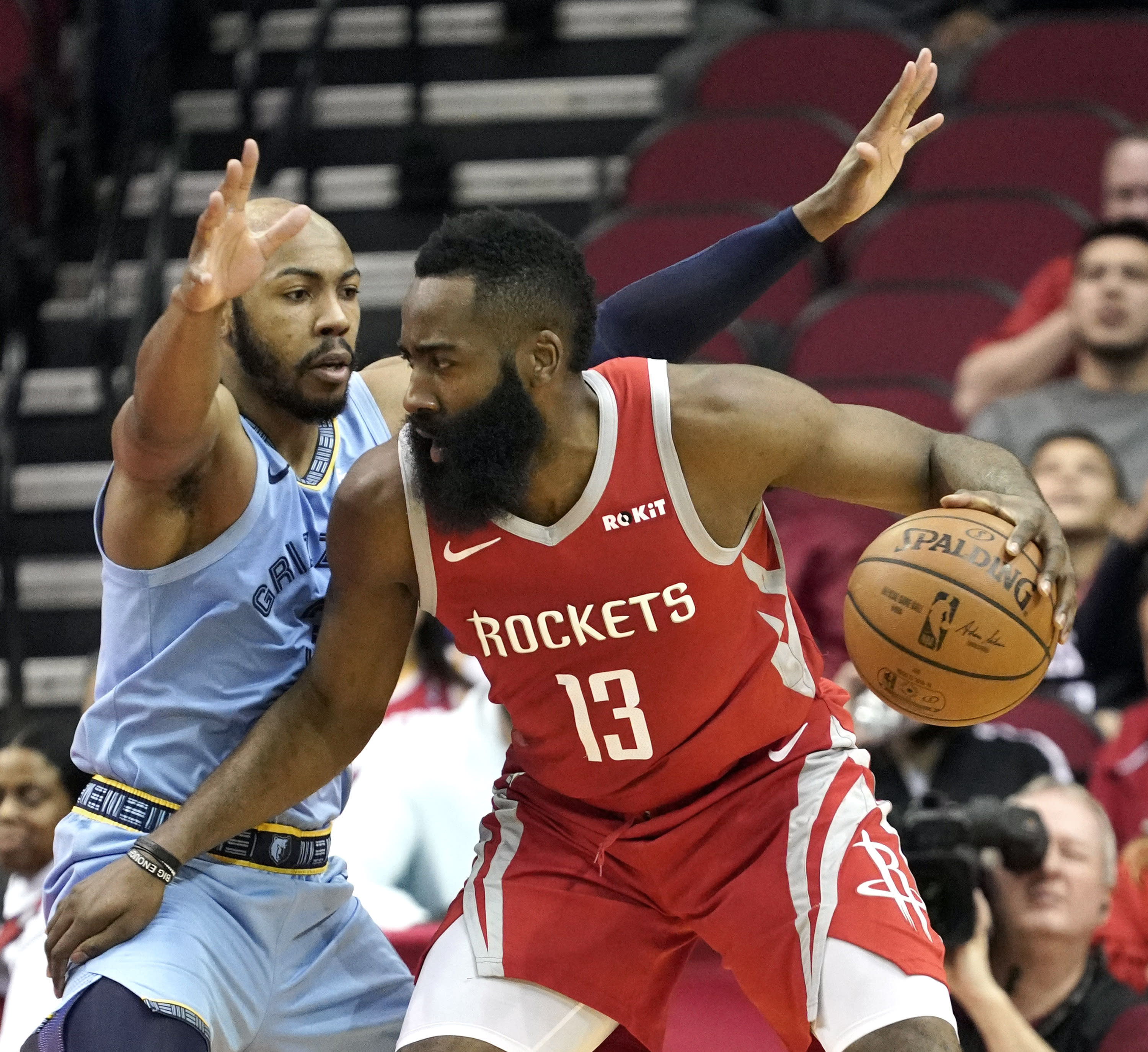 James Harden Points Last Night: Harden's 57 Points Lead Rockets Over Grizzlies, 112-94