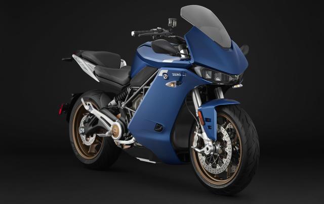 Zero's SR/S electric motorcycle promises up to 201 miles of range