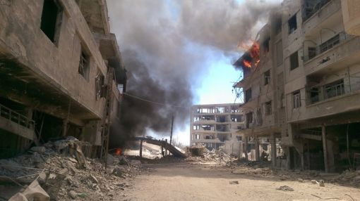 Only Hospital in Damascus Suburb Is Closed After Bombings