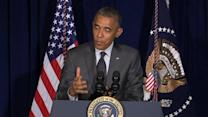 Obama defends decision not to visit border