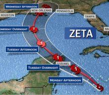 Tropical Storm Zeta expected to strengthen into hurricane