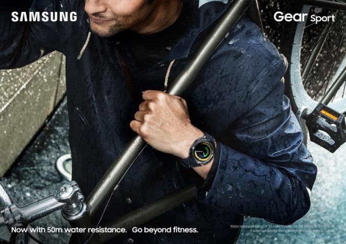 El nuevo Gear Sport de Samsung busca nadadores interesados en pagar con Samsung Pay