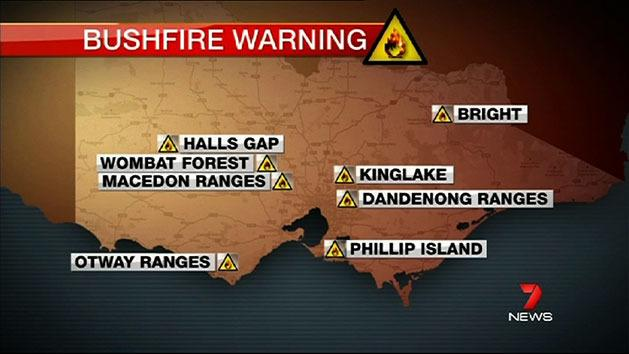 Vic facing worst bushfire season