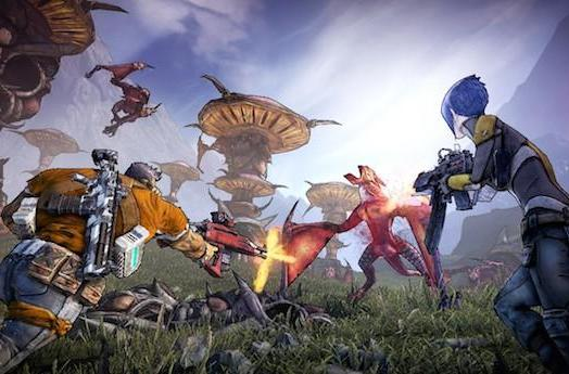 Borderlands 2 to scavenge for loot and experience on Linux