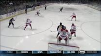 Christian Ehrhoff blows one past Cam Ward