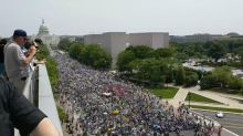 Crowd Fills Pennsylvania Avenue at People's Climate March