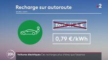 Voitures électriques : des recharges plus chères que l'essence