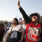 Thai party challenging army rule holds first Bangkok rally