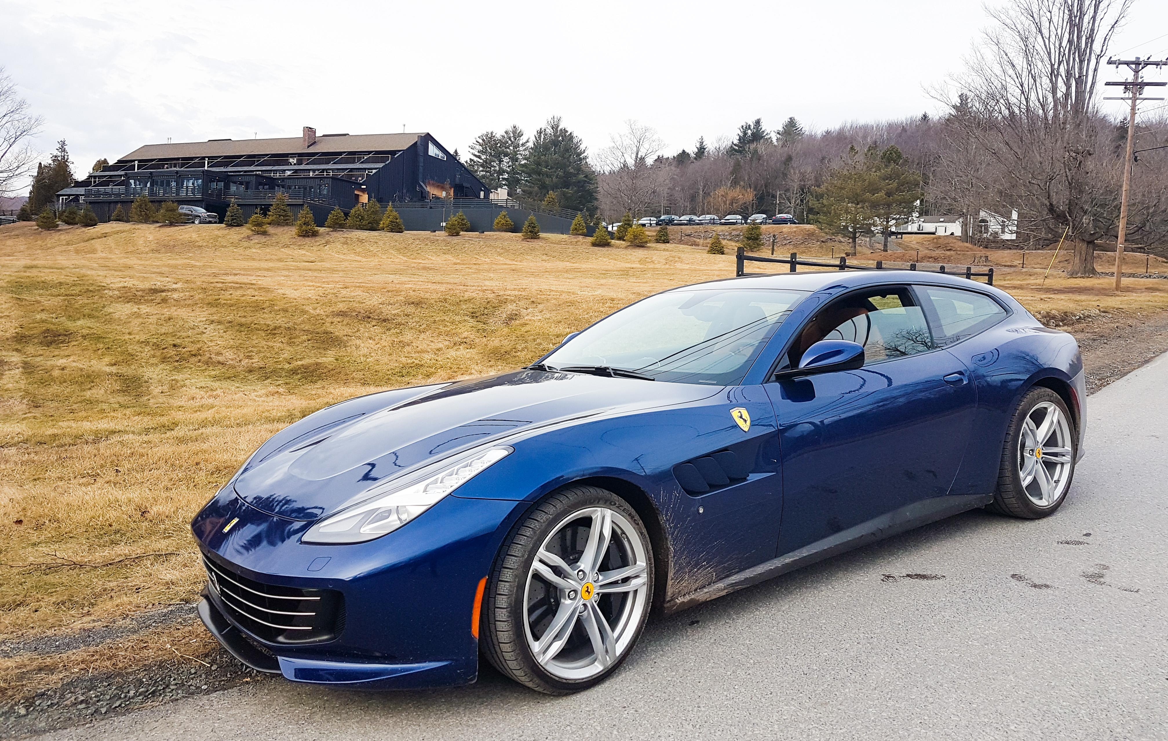 Winter Olympics Italian style taking the GTC4Lusso upstate Video