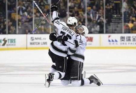 NHL: Los Angeles Kings at Boston Bruins