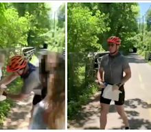 'Sick with remorse': Cyclist charged with assaulting teen protesters who put up justice for George Floyd posters says he's 'committed to making amends'