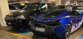 $300K McLaren driver's 'unbelievable' parking