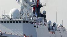 U.S. Navy warship seizes alleged Iranian weapons