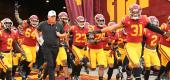 The USC Trojans. (Getty Images)
