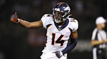 Broncos WR Courtland Sutton 'done for the year' after tearing ACL